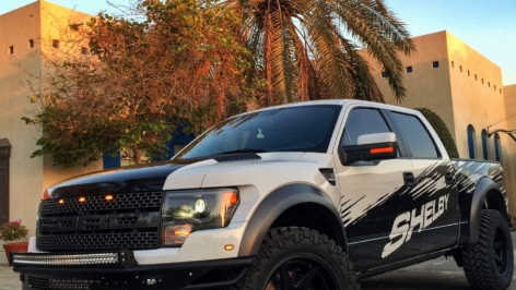 Ford Shelby Raptor on ADV6 Truck Spec