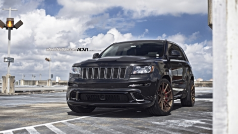 Jeep Grand Cherokee SRT8 on ADV10 MV1