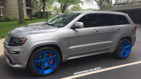 Jeep SRT8 Grand Cherokee on ADV05 MV2 SL