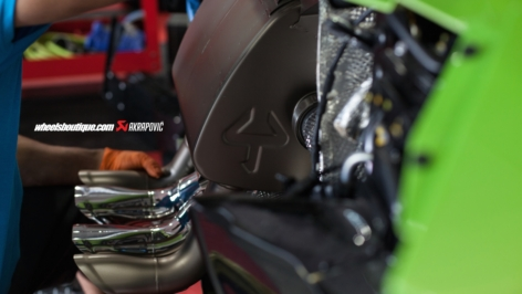 Lamborghini Aventador Akrapovic Exhaust Install