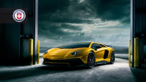 Lamborghini Aventador on HRE S200