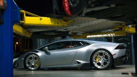 Lamborghini Huracan on ADV05C Track Spec CS