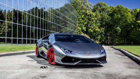 Lamborghini Huracan on ADV.1 NL2