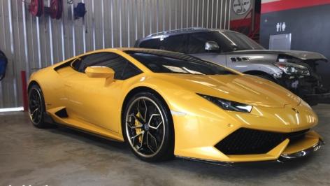 Lamborghini Huracan on HRE S201