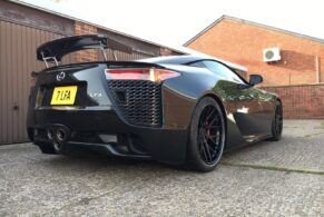 Lexus LFA on ADV7 Track Spec SL