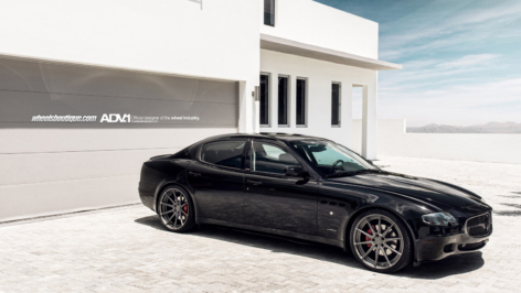 Maserati Quattroporte on ADV10 MV2 SL