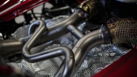 McLaren 650S Akrapovic Exhaust Install