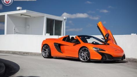 McLaren 650S on HRE P101