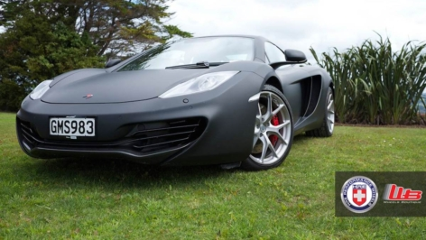 McLaren MP4-12C on HRE P101 – NZ Edition