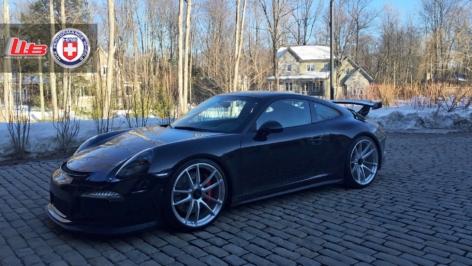 Porsche GT3 on HRE P104
