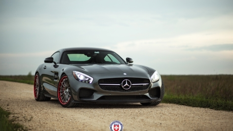 Mercedes AMG GTS on HRE RS103