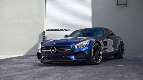 Mercedes Benz AMG GTS on ADV.1 RSQ Track Spec