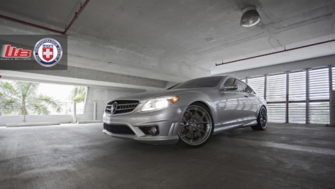 Mercedes CL65 on HRE S101