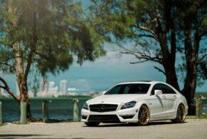 Mercedes Benz CLS63 AMG on ADV7 TS CS