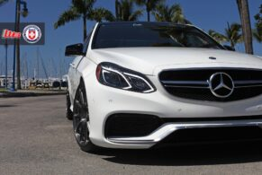 Mercedes Benz E63 AMG on HRE P43SC