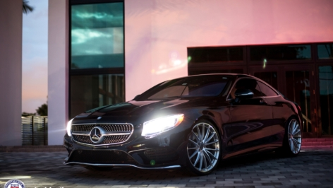 Mercedes Benz S550 Coupe on HRE P103