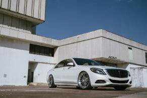 Mercedes S550 on ADV15 Track Spec CS