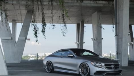 Mercedes S63 Coupe on ADV15 TS CS