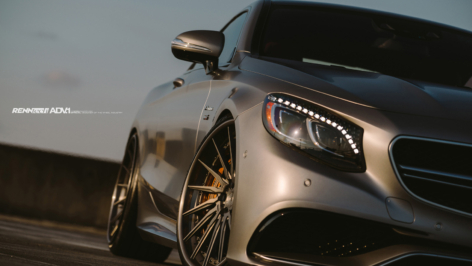 Mercedes Benz S63 Coupe on ADV15R TS CS