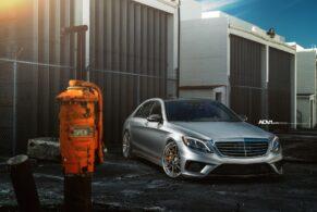 Mercedes Benz S63 AMG on ADV7R Track Spec CS