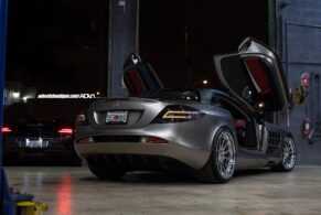 Mercedes Benz SLR McLaren on ADV10R TS CS