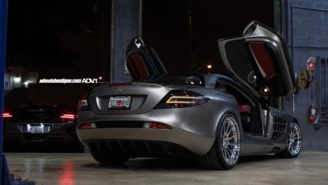 Mercedes Benz SLR McLaren on ADV10R TS CS