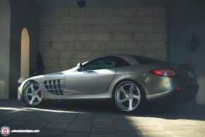 Mercedes Benz SLR McLaren on HRE RS102