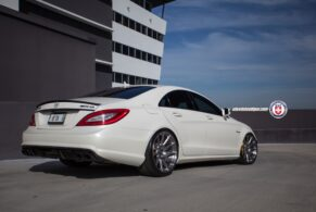Mercedes CLS63 on HRE P43SC