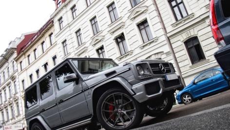 Mercedes G63 AMG on HRE P101