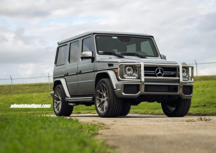 Mercedes Benz G63 AMG on HRE P101