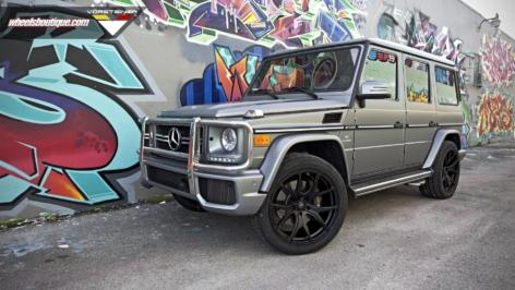 Mercedes G63 on Vorsteiner VSE-003