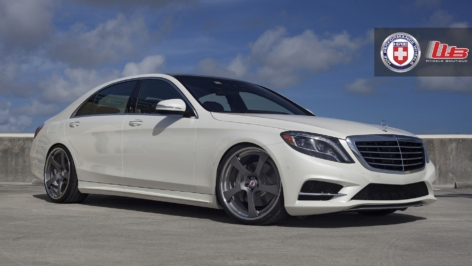 Mercedes S550 on HRE RS102