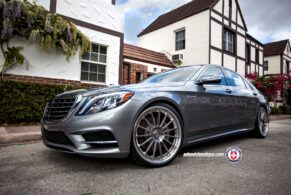 Mercedes Benz S550 on HRE RS103