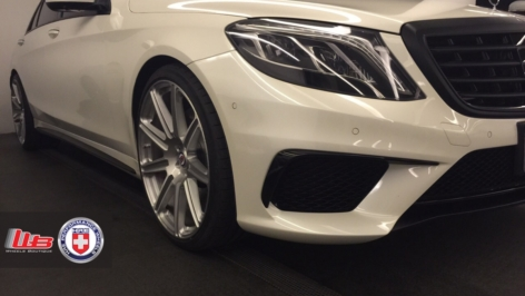 Mercedes S63 on HRE TR109