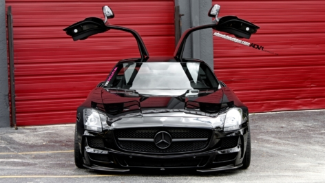 Mercedes SLS AMG on ADV15 with MEC Bump