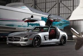 Mercedes Benz SLS AMG on HRE P101