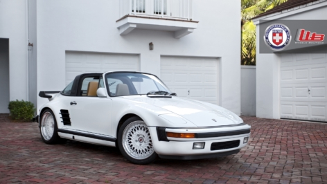 Porsche 930 Turbo Targa on HRE Vintage 501 Vintage