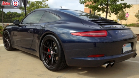 Porsche 991 Carrera S on HRE P101
