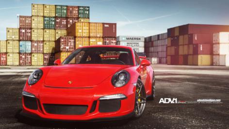 Porsche 991 GT3 on ADV05S MV2 CS