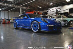 Porsche 991 GT3 on HRE 501C