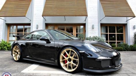 Porsche 991 GT3 on HRE P101