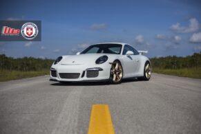 Porsche 991 GT3 on HRE P106