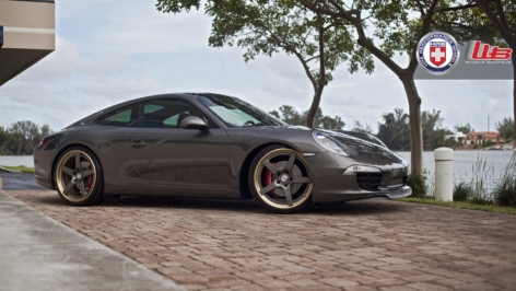 Porsche 991 S on HRE RS105