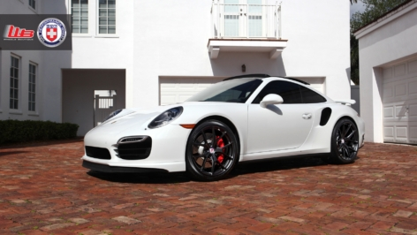 Porsche 991 Turbo on HRE P101