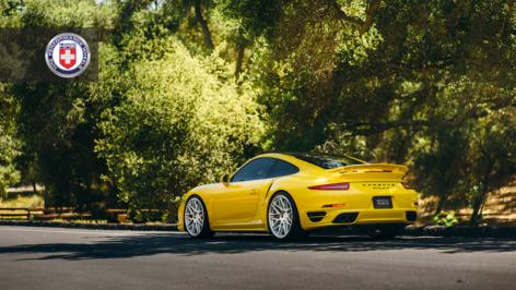 Porsche 991 Turbo on HRE RS100M
