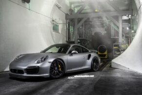 Porsche 991 Turbo S on ADV10 MV2 CS