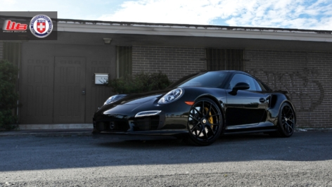 Porsche 991 Turbo S on HRE P101 C/L