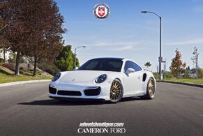 Porsche 991 Turbo S on HRE RS103