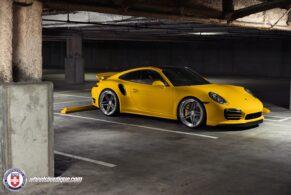 Porsche 991 Turbo S on HRE S107