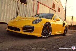 Porsche 991TTS on HRE S107